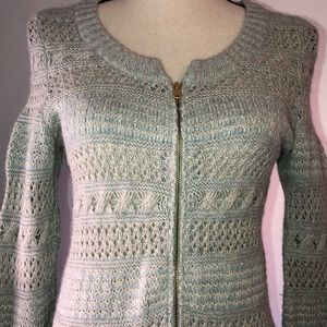Anthro sleeping in the snow sweater size small